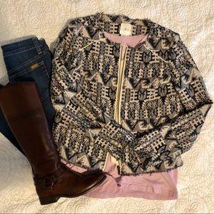 Anthropologie knit blazer jacket ADORABLE